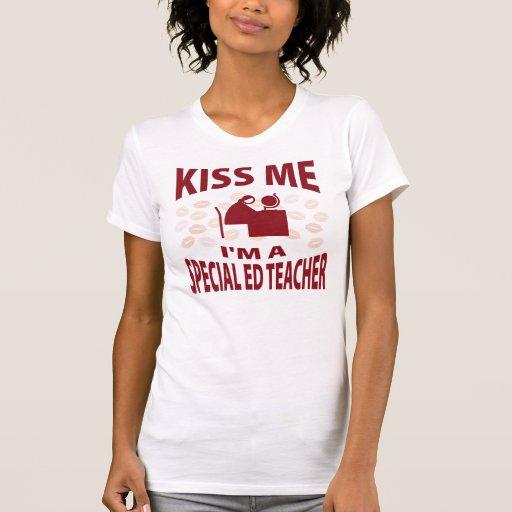 Béseme que soy profesor especial de Ed Camiseta