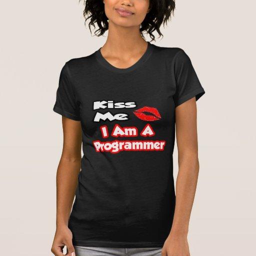 Béseme… que soy programador camiseta