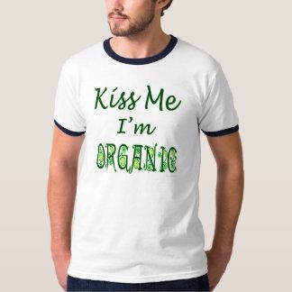 Béseme que soy refrán orgánico playera
