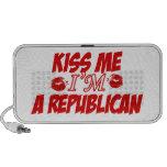 Béseme que soy republicano iPhone altavoces