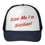 Béseme que soy siciliano gorro de camionero