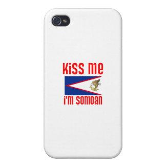 Béseme que soy Somoan iPhone 4 Cobertura