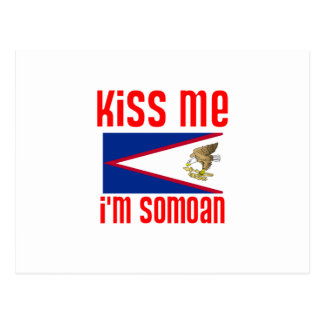 Béseme que soy Somoan Postal