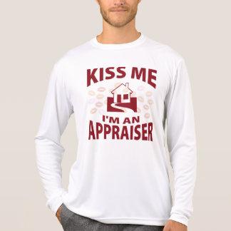 Béseme que soy tasador camiseta