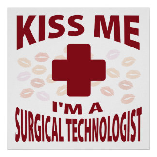 Béseme que soy tecnólogo quirúrgico impresiones