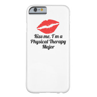 Béseme que soy un comandante de la terapia física funda de iPhone 6 barely there