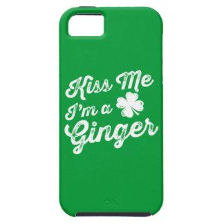 ¡Béseme que soy un jengibre! iPhone 5 Cárcasa