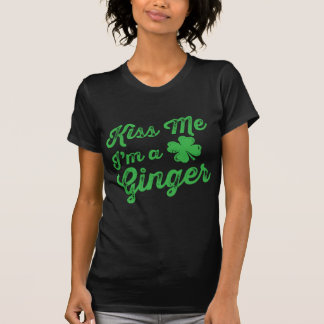 ¡Béseme que soy un jengibre! Camisetas