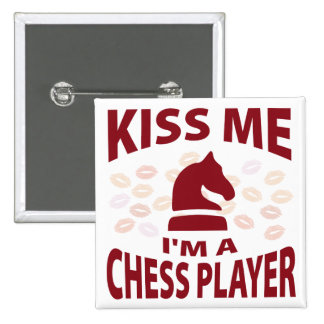 Béseme que soy un jugador de ajedrez pin