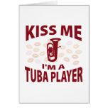 Béseme que soy un jugador de la tuba felicitaciones