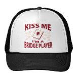 Béseme que soy un jugador de puente gorras