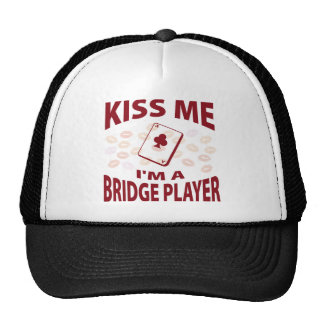 Béseme que soy un jugador de puente gorro de camionero