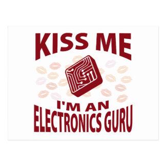 Béseme que soy una electrónica Guru Postal