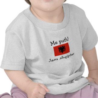 ¡Béseme! Soy albanés (el muchacho) Camiseta