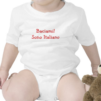 ¡Béseme! Soy italiano (el muchacho) Traje De Bebé