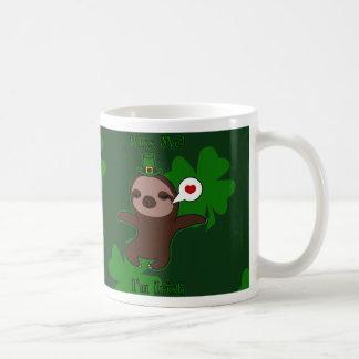 Béseme taza del irlandés Im