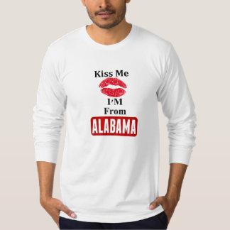 Béseme, yo son de Alabama Camisas