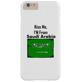 Béseme, yo son de la Arabia Saudita Funda De iPhone 6 Plus Barely There