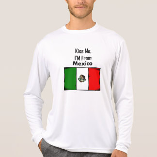 Béseme, yo son de México Poleras