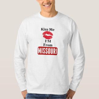 Béseme, yo son de Missouri Playera