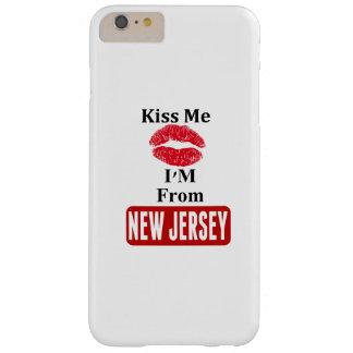 Béseme, yo son de New Jersey Funda De iPhone 6 Plus Barely There