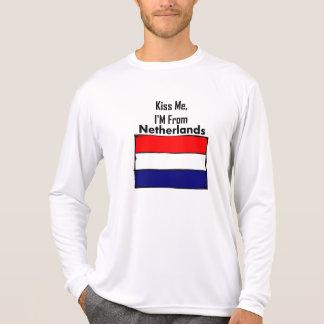 Béseme, yo son de Países Bajos Poleras