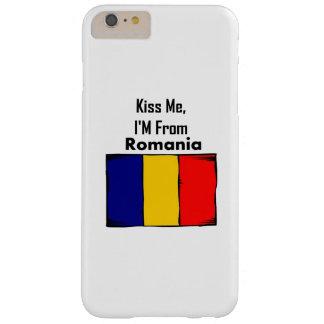 Béseme, yo son de Rumania Funda De iPhone 6 Plus Barely There