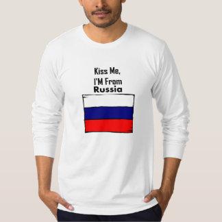 Béseme, yo son de Rusia Remeras