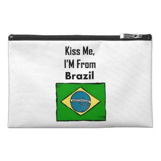 Béseme, yo son del Brasil