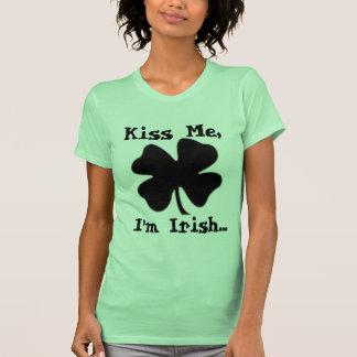 Béseme, yo son irlandés… camisetas