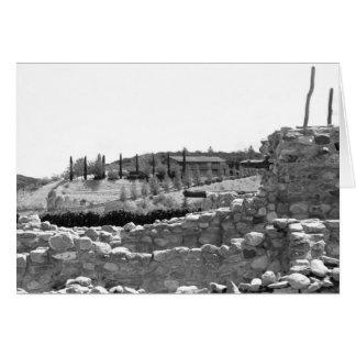 BESH-BA-GOWAH  Pueblo Card