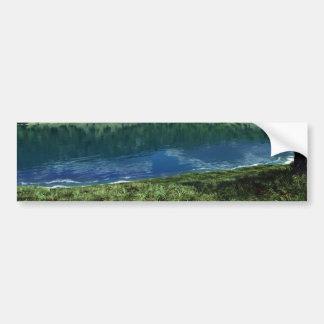 Beside Deep Waters Bumper Sticker
