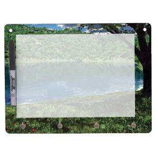 Beside Deep Waters Dry Erase Board