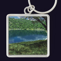Beside Deep Waters Keychain