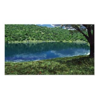 Beside Deep Waters Photo Print