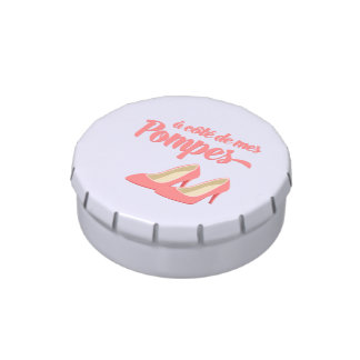 Beside My Shoes - A Cote de Mes Pompes French Jelly Belly Tins