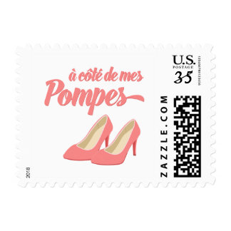 Beside My Shoes - A Cote de Mes Pompes French Postage