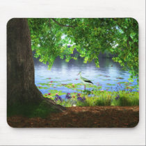 Beside the Still Water Mousepad