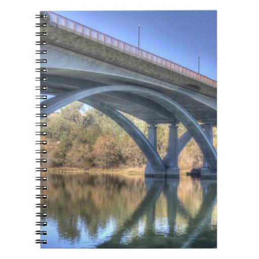 Besides Folsom Bridge Spiral Note Books