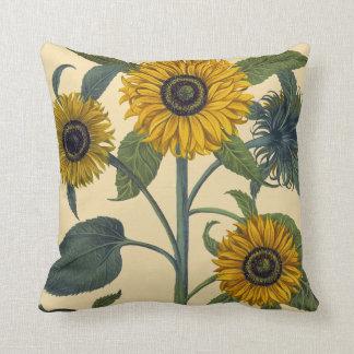 Besler: Sunflower Throw Pillow