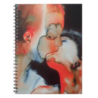 Beso 1988 del primer spiral notebook