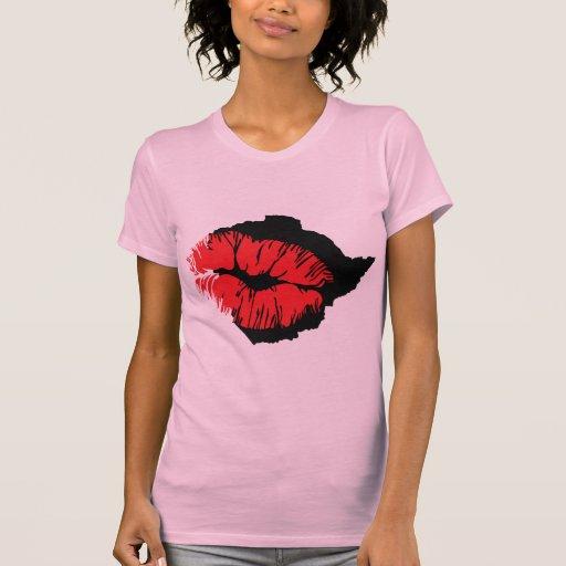 Beso - amor camiseta