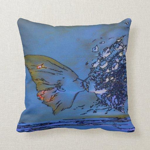 Beso celestial mágico almohadas