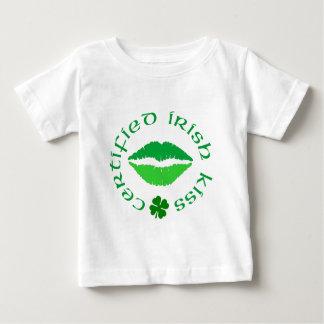 Beso certificado del irlandés playeras