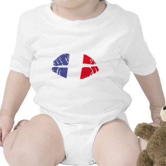 beso de Francia Trajes De Bebé