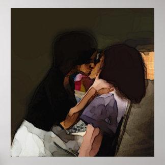 Beso de la inocencia póster