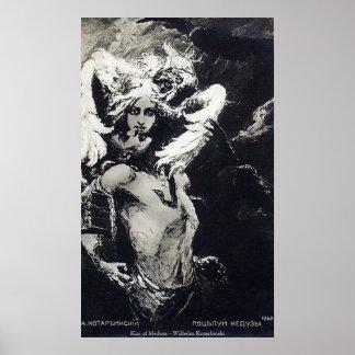 Beso de la medusa - Wilhelm Kotarbinski Póster