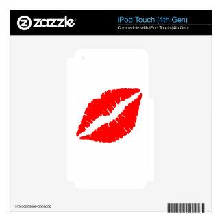 beso de lado iPod touch 4G skin