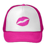Beso de las rosas fuertes gorra