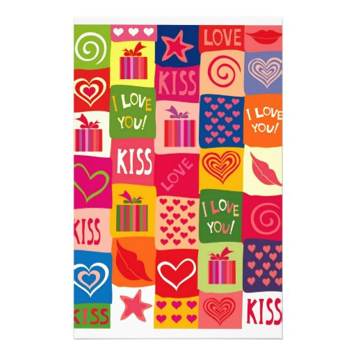 beso del amor del amor  papeleria